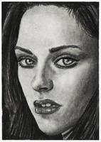 Kristen Stewart ACEO by acjub