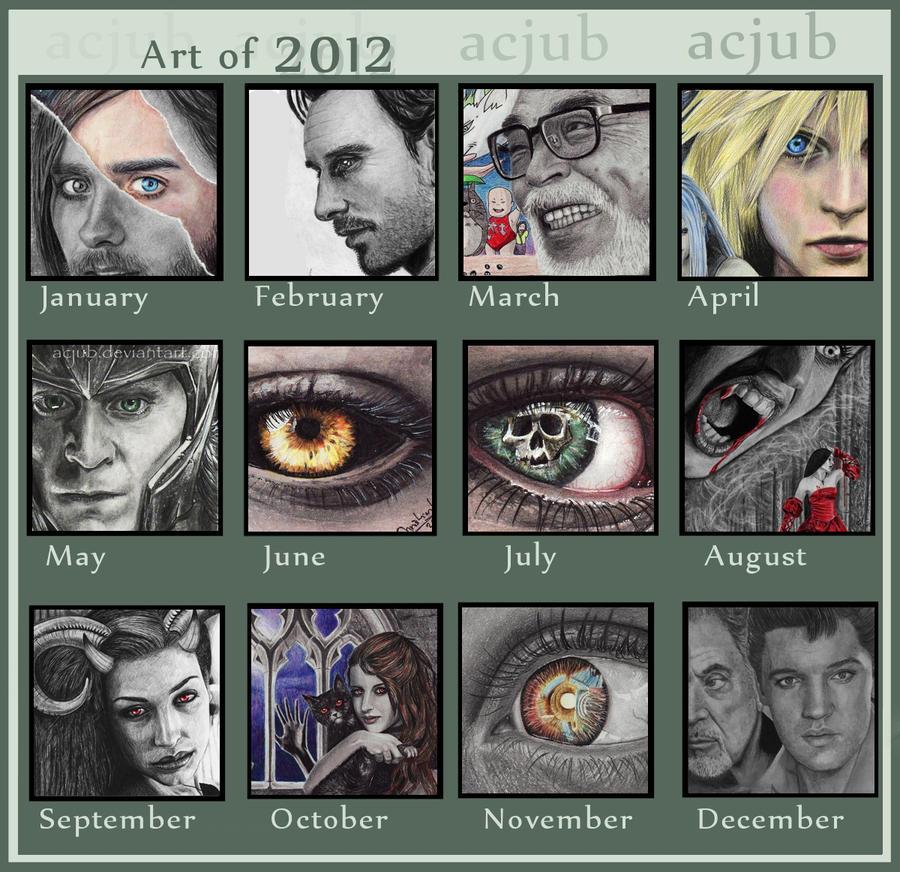 Art of 2012 by acjub