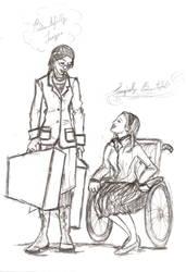 Elphie Nessa Sketch by artsrock06