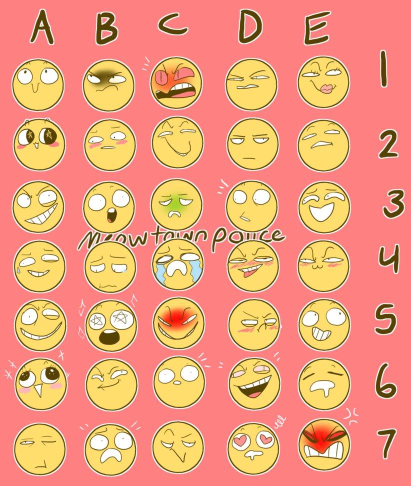 emoji_expression_meme_challenge_thing___by_spider_girl91 d9pxbkg emoji expression meme challenge thing?? by spider girl91 on deviantart