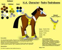 HA-Character Reference: Pedro by pk-condor