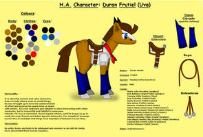 HA-Character Reference Duran by pk-condor