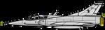 Gdc_Mirage III EA - biplaza FAA by pk-condor