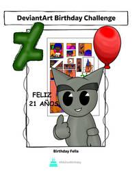 Happy 21st Birthday DeviantArt!