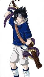 SASUKE-KUN by Reaper-chan
