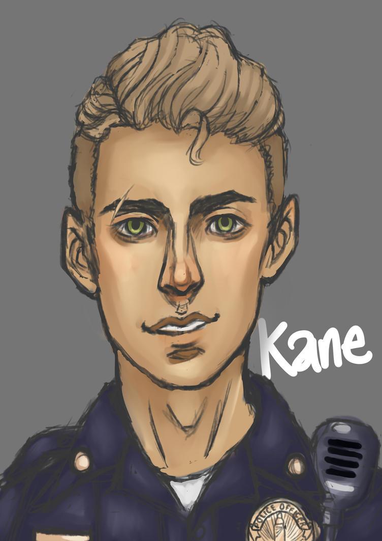 Policeman Sketch by xXGriffieXx