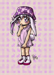 Bunny Girl Color by Zutroicatz