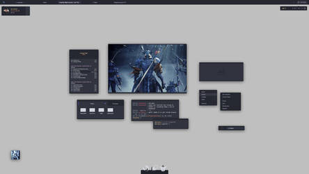 Dragoon UI by KaLam1ty-AC
