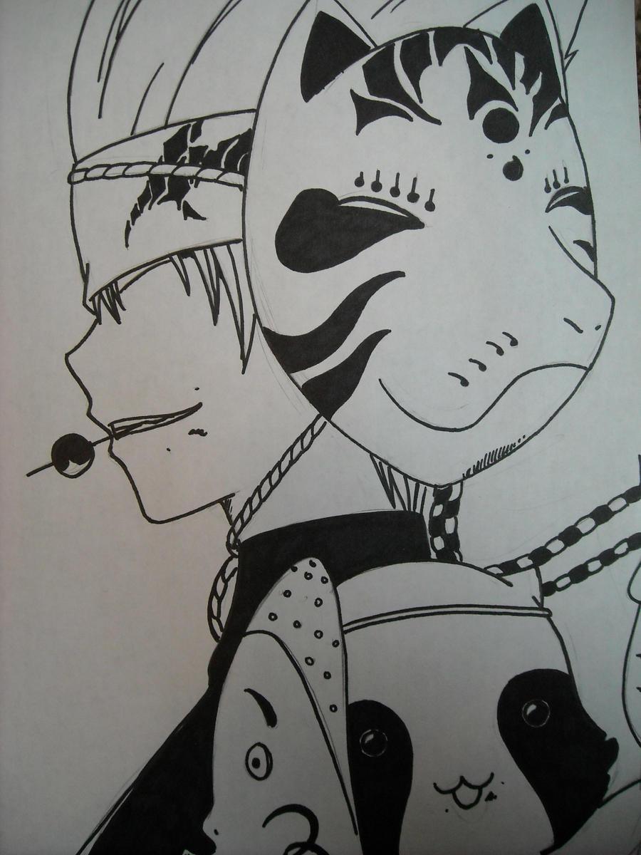 Utsuho and Pochi by Saiyuri-Taiyou
