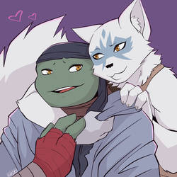 Raph and Alopex IDW