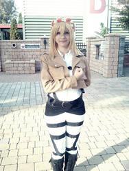 Christa/Historia cosplay