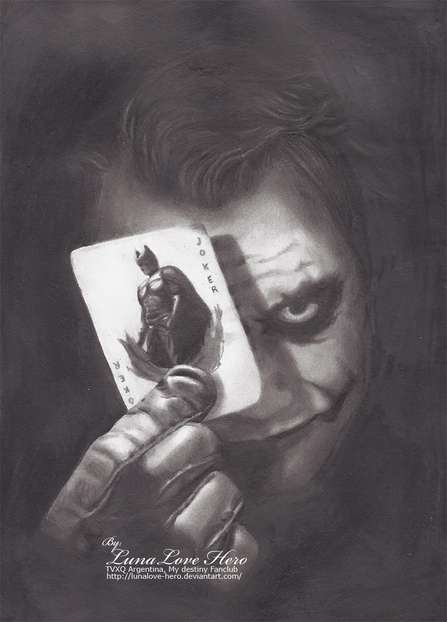 heath ledger fan art