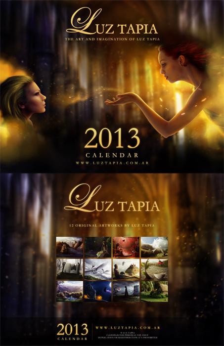 Calendar 2013 - Luz Tapia by LuzTapia