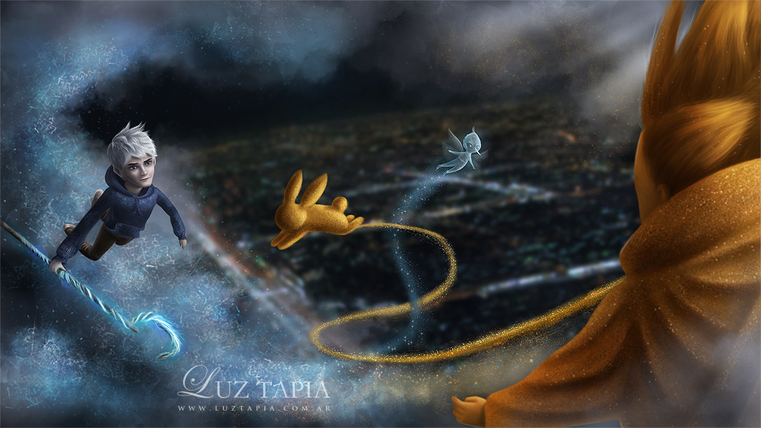 RotG: Jack Frost and Sandman by LuzTapia
