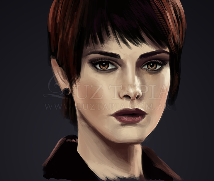 Ashley Greene (Speedpainting) by LuzTapia