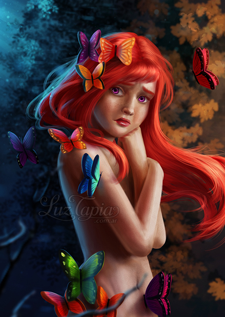 Fragile butterfly by LuzTapia