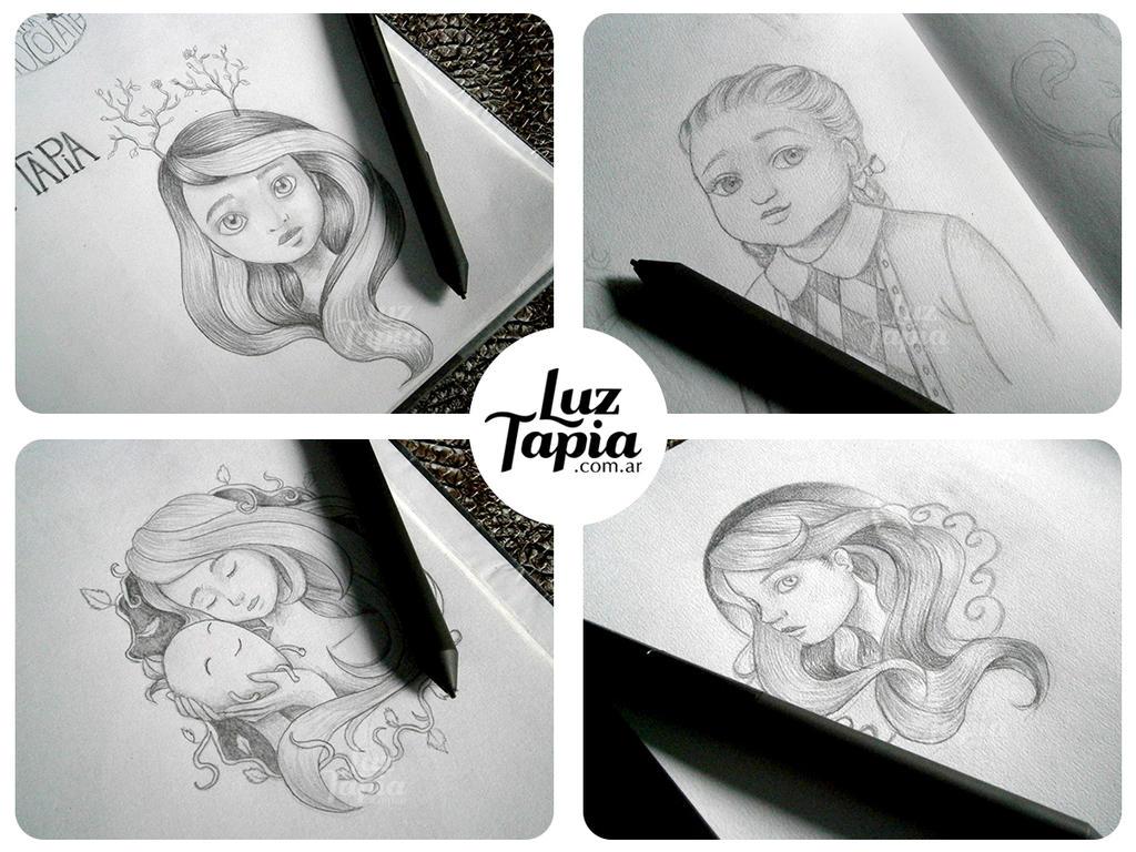 Sketches by LuzTapia