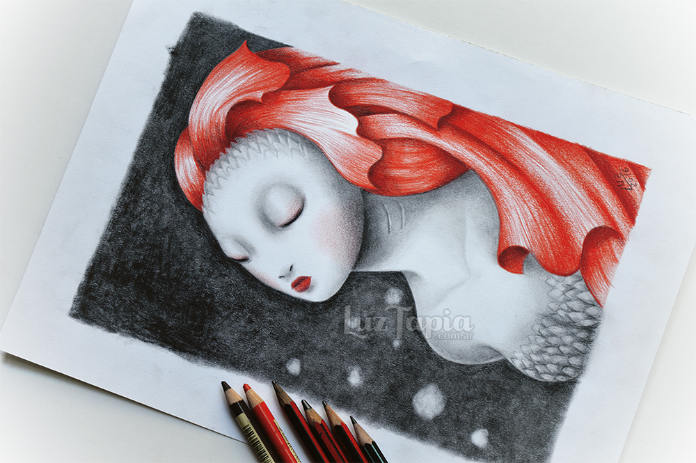 Mermaid by LuzTapia