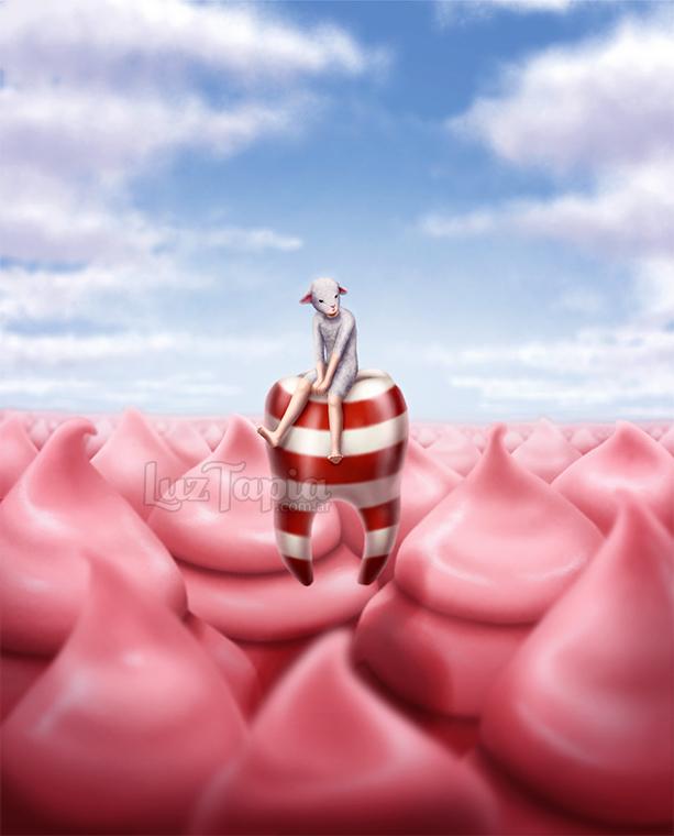 Pink Horizon by LuzTapia