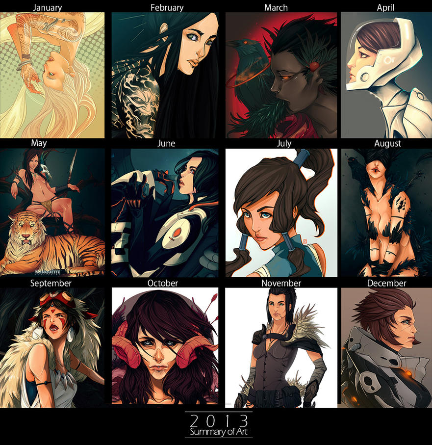Summary of Art 2013 by Sha-H