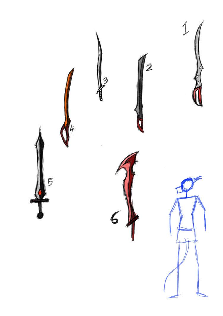 Kris sword ideas by Salamander-Flame