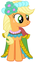 Royal Wedding: Applejack by JennieOo