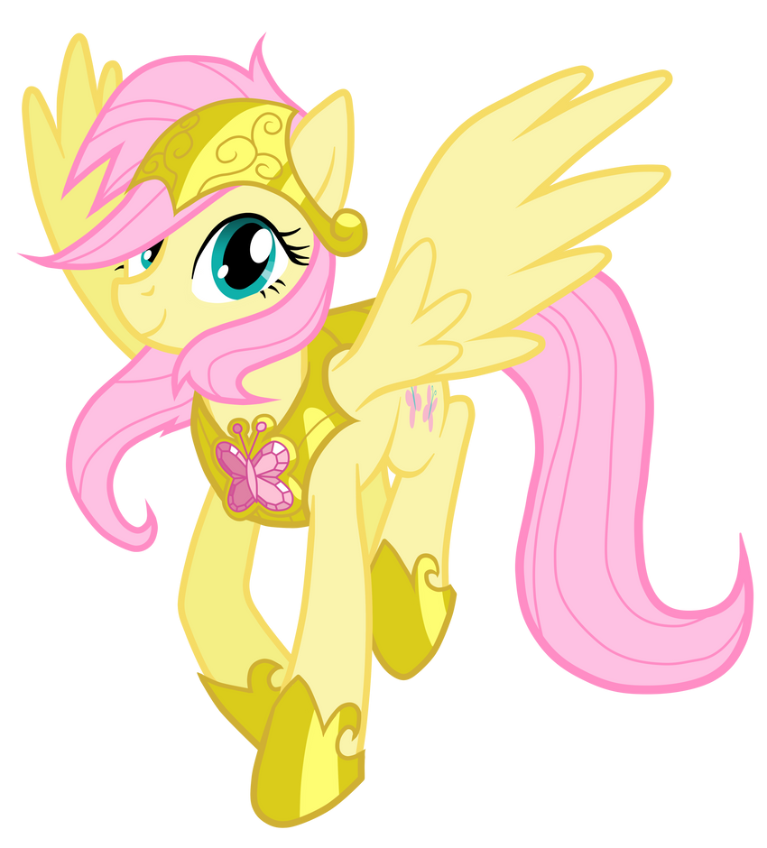 The New Royal Guardian Fluttershy by JennieOo