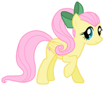 Fluttershy With A Ponytail