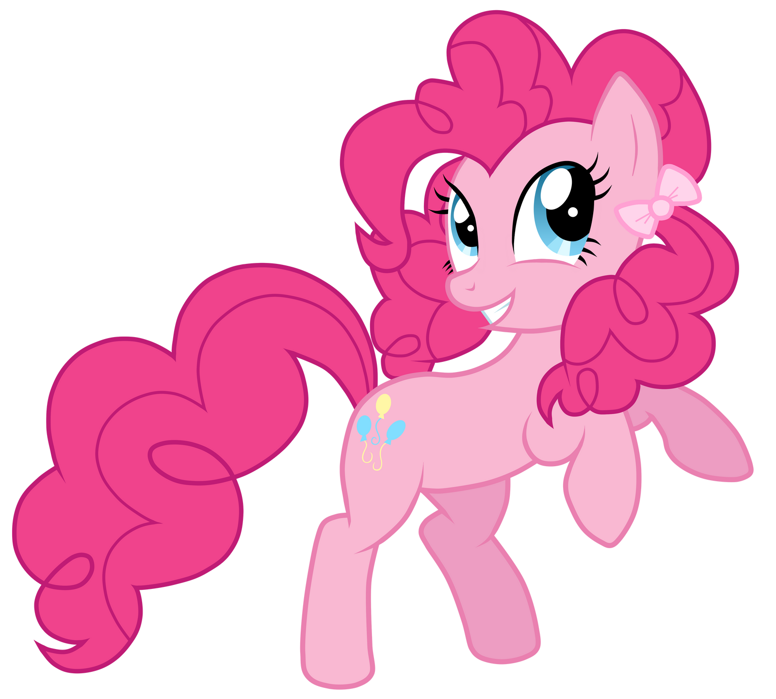 Pinkie Pie With A Pigtail