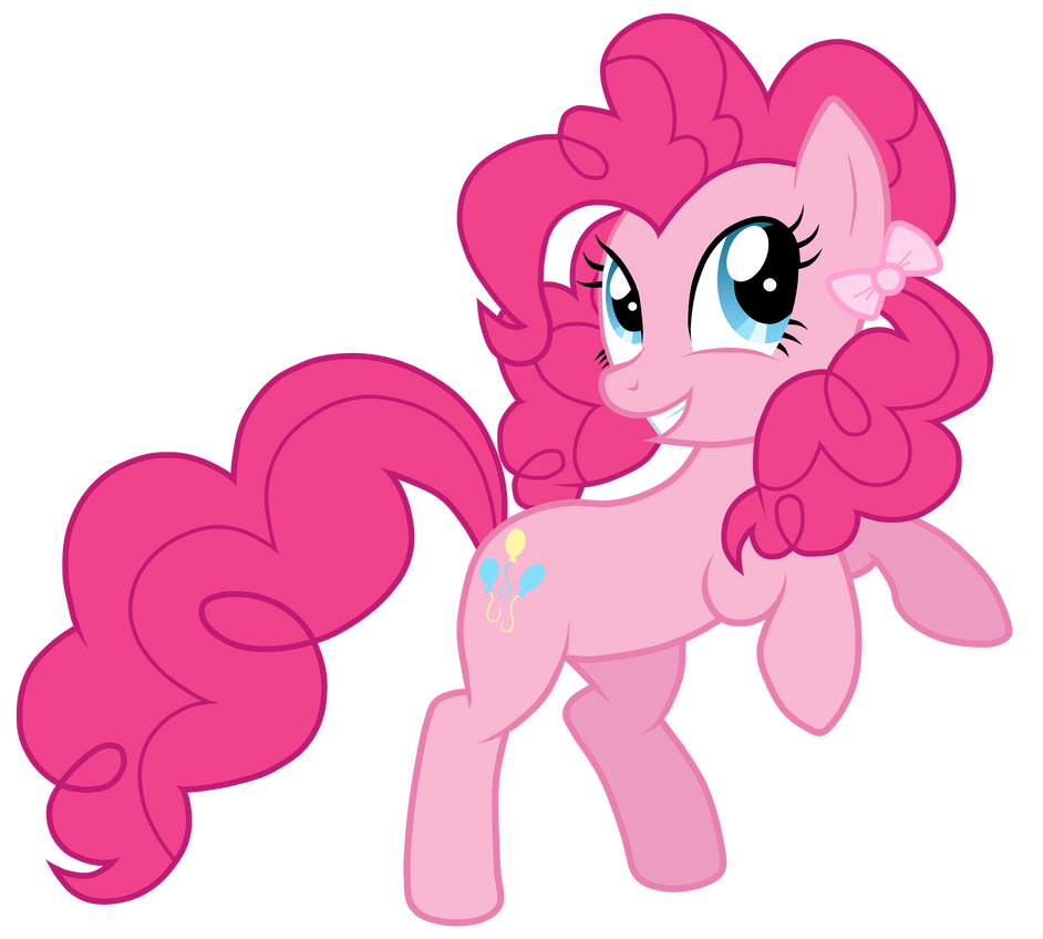 Pinkie Pie With A Pigtail by JennieOo