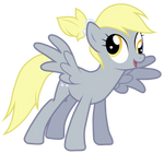 Derpy With A Ponytail