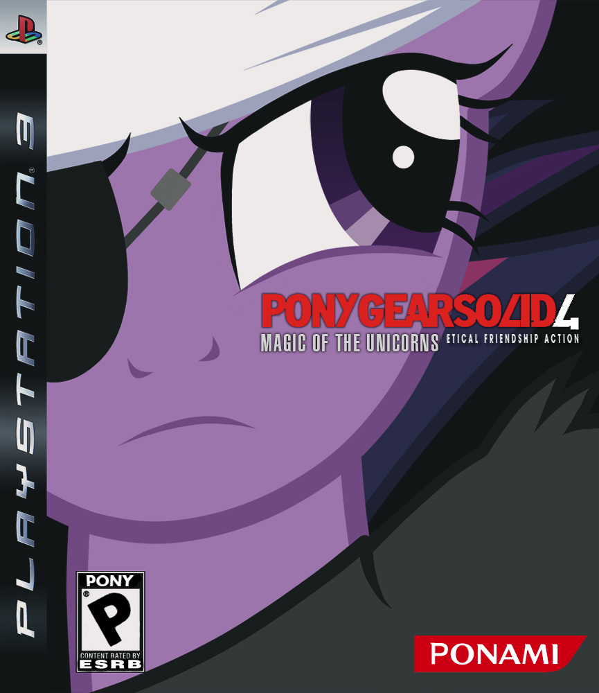 Pony Gear Solid 4: Magic Of Unicorns by JennieOo