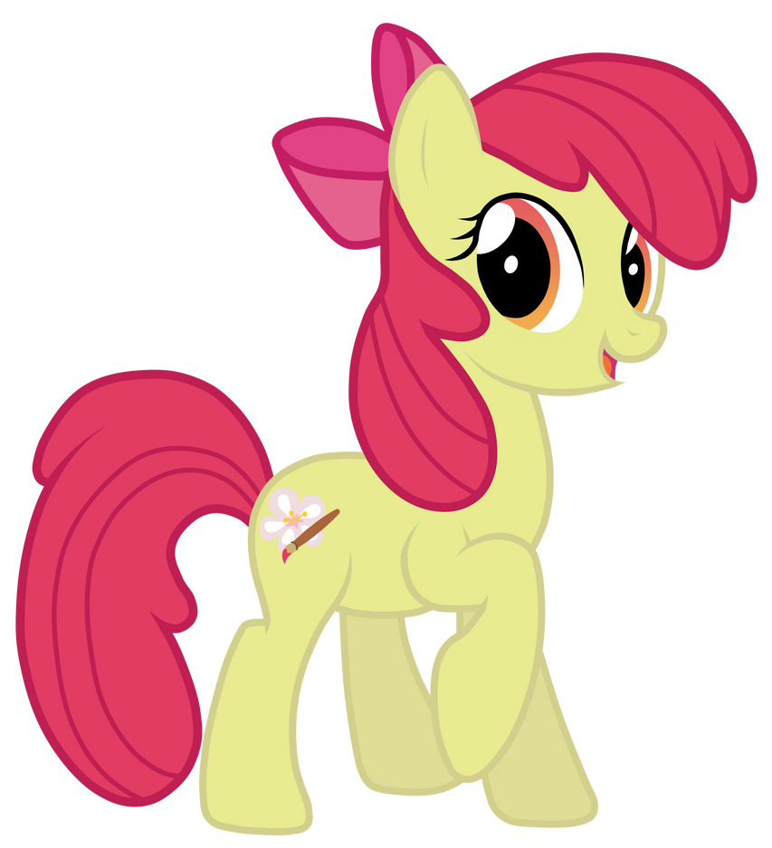 Grown up Apple Bloom by JennieOo