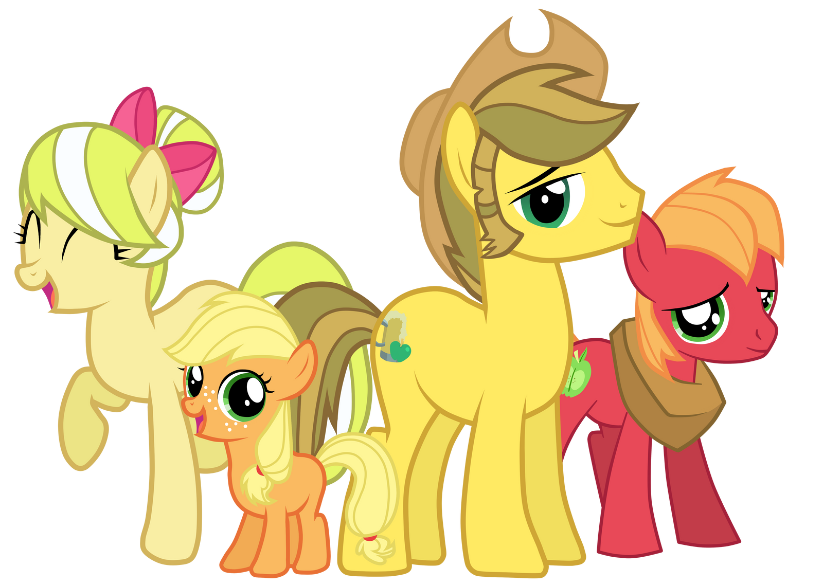 Apple Family by JennieOo
