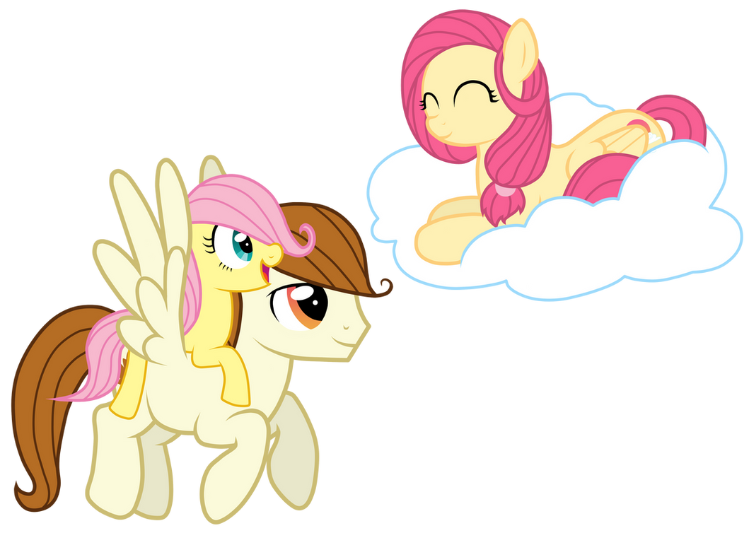 Fluttershy's Parents by JennieOo