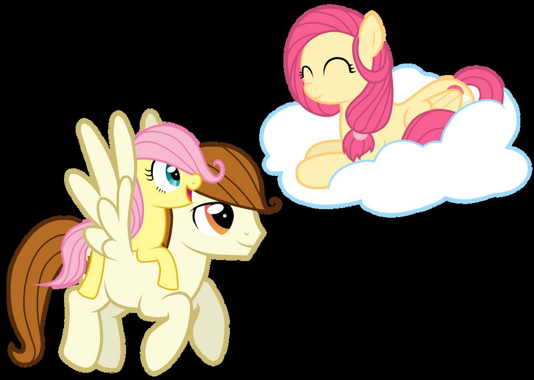 My little pony fluttershy parents