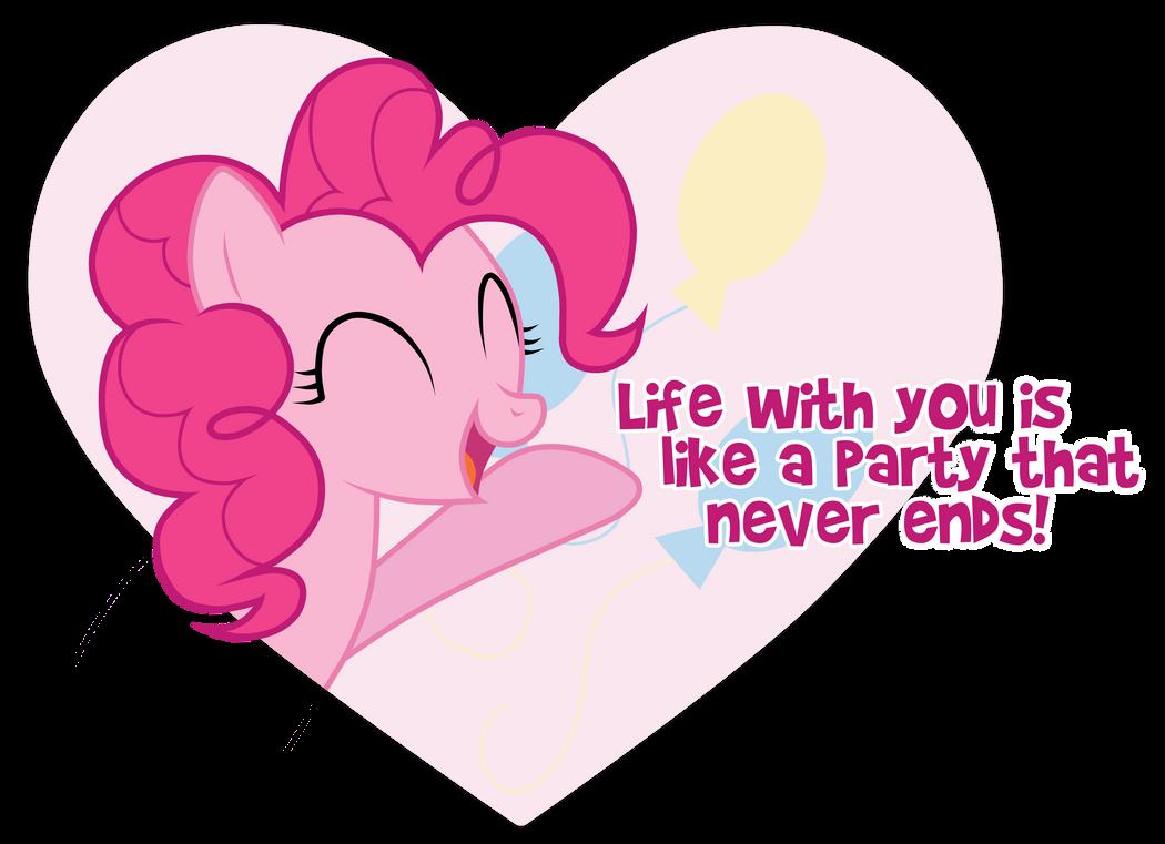 Pinkie Pie Valentine by JennieOo