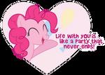 Pinkie Pie Valentine