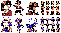 Pokemon Special HgSs saga gbc sprites by Solo993