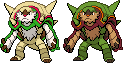Chesnaught gba sprite by Solo993