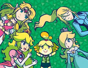 Smash Blonde Girls