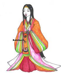 Promotional Art: Heian Lady