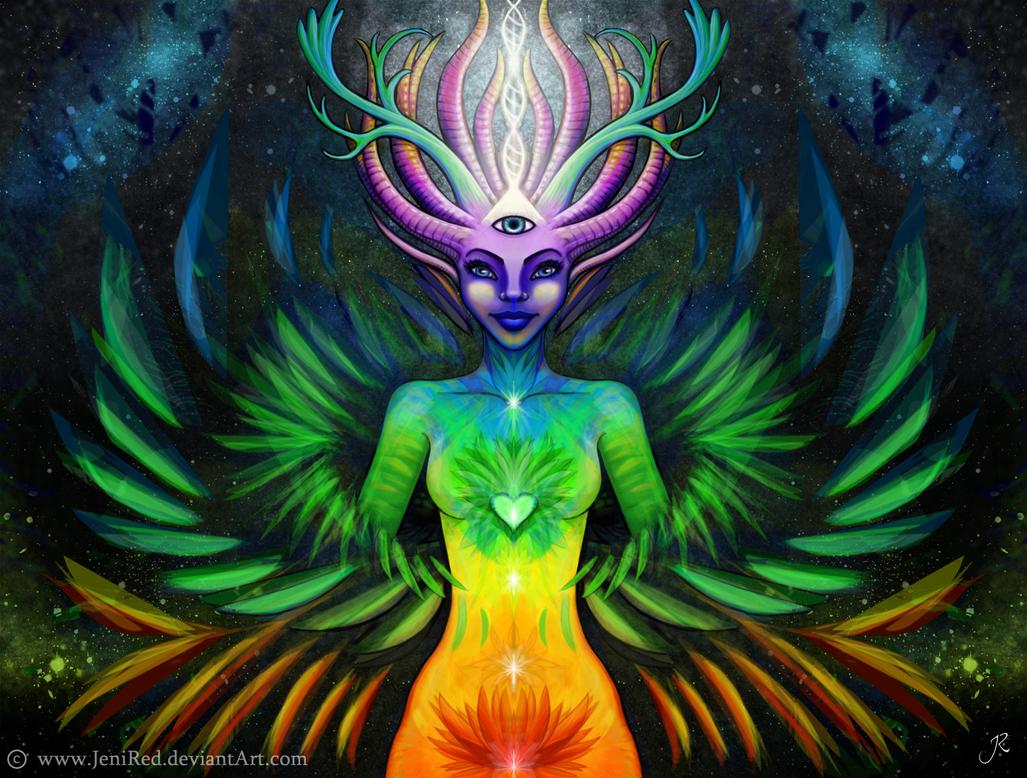 Spirit Awakening by JeniRed