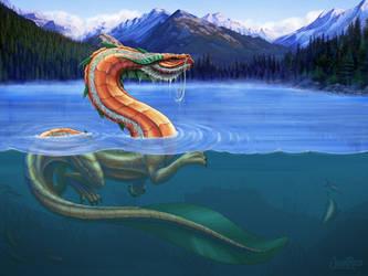 Weitsu: Dragon of Prosperity by JeniRed
