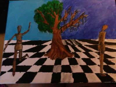 Painting Surrealism by amoregirltje