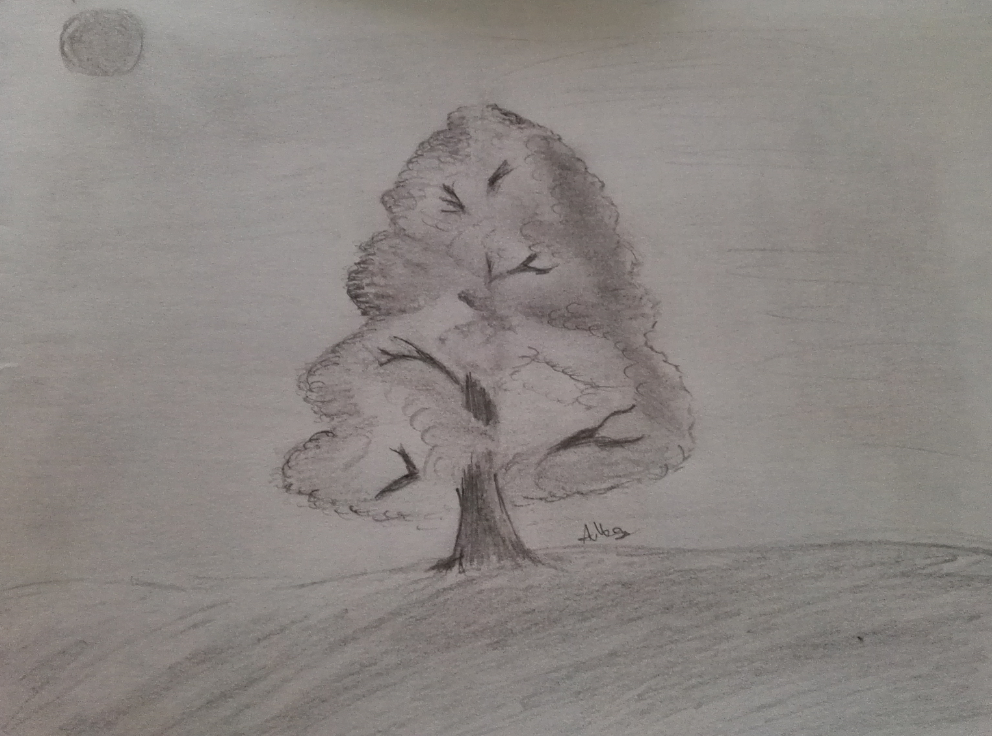 A practice tree by amoregirltje