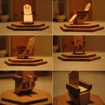 Woodcraft: SGA Control Chair