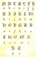 Dies Irae font :3 by Alwynka