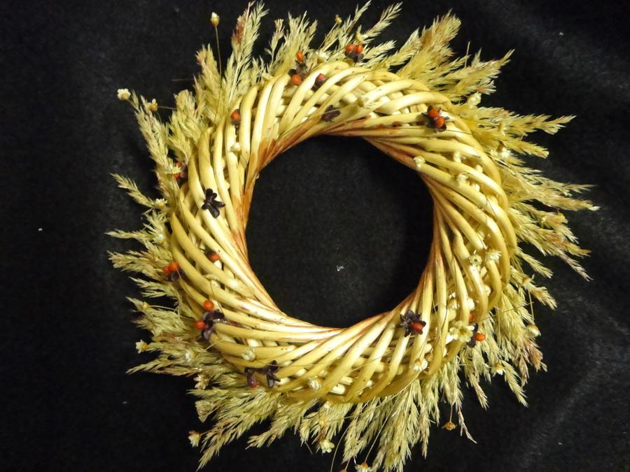 Sunshine Christmas Wreath by TalesOfNightWing