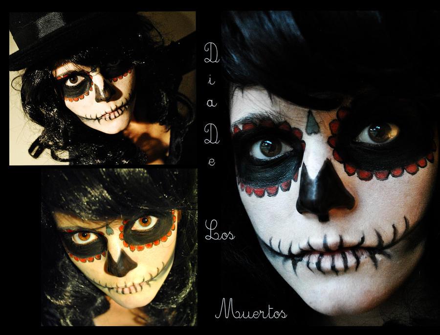 Dia De los Muertos Makeup by TalesOfNightWing
